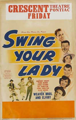 Swing Your Lady - 11 x 17 Movie Poster - Style C