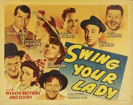 Swing Your Lady - 11 x 14 Movie Poster - Style B