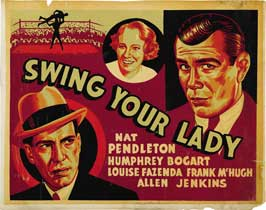 Swing Your Lady - 22 x 28 Movie Poster - Half Sheet Style A