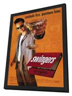Swingers - 11 x 17 Movie Poster - Style A - in Deluxe Wood Frame