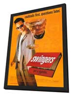 Swingers - 27 x 40 Movie Poster - Style A - in Deluxe Wood Frame