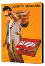 Swingers - 27 x 40 Movie Poster - Style A - Museum Wrapped Canvas