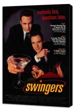 Swingers - 27 x 40 Movie Poster - Style B - Museum Wrapped Canvas
