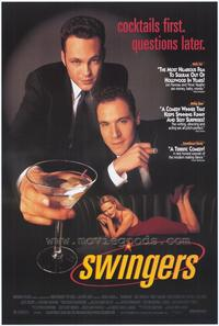 Swingers - 43 x 62 Movie Poster - Bus Shelter Style B