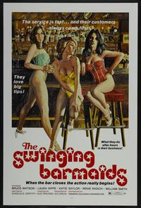 Swinging Barmaids - 11 x 17 Movie Poster - Style A