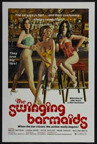 Swinging Barmaids - 43 x 62 Movie Poster - Bus Shelter Style A