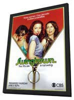 Swingtown - 11 x 17 TV Poster - Style A - in Deluxe Wood Frame