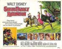 Swiss Family Robinson - 11 x 14 Movie Poster - Style A