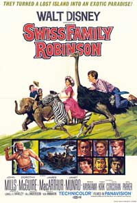 Swiss Family Robinson - 27 x 40 Movie Poster - Style A
