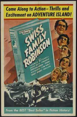Swiss Family Robinson - 11 x 17 Movie Poster - Style A