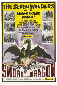 Sword and the Dragon - 27 x 40 Movie Poster - Style A