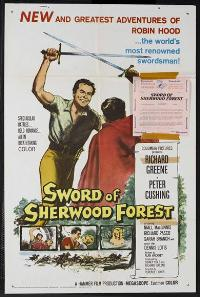 Sword of Sherwood Forest - 11 x 17 Movie Poster - Style A