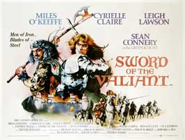 Sword of the Valiant - 27 x 40 Movie Poster - UK Style A