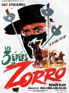 Sword of Zorro - 11 x 17 Movie Poster - French Style A