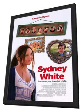 Sydney White - 11 x 17 Movie Poster - Style B - in Deluxe Wood Frame