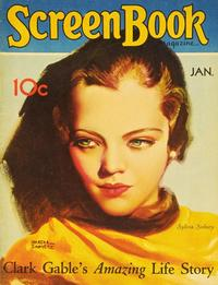 Sylvia Sidney - 27 x 40 Movie Poster - Screen Book Magazine Cover 1930's