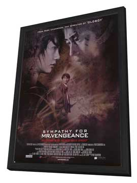 Sympathy for Mr. Vengeance - 27 x 40 Movie Poster - Style A - in Deluxe Wood Frame