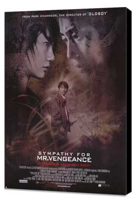 Sympathy for Mr. Vengeance - 27 x 40 Movie Poster - Style A - Museum Wrapped Canvas