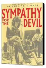 Sympathy for the Devil - 11 x 17 Movie Poster - Netherlands Style A - Museum Wrapped Canvas