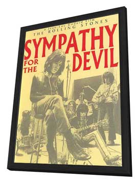Sympathy for the Devil - 11 x 17 Movie Poster - Netherlands Style A - in Deluxe Wood Frame