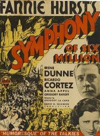 Symphony of Six Million - 11 x 17 Movie Poster - Style A