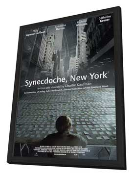 Synecdoche, New York - 11 x 17 Movie Poster - Style C - in Deluxe Wood Frame