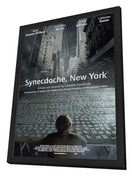Synecdoche, New York - 27 x 40 Movie Poster - Style C - in Deluxe Wood Frame