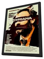 Syriana - 11 x 17 Movie Poster - Style A - in Deluxe Wood Frame
