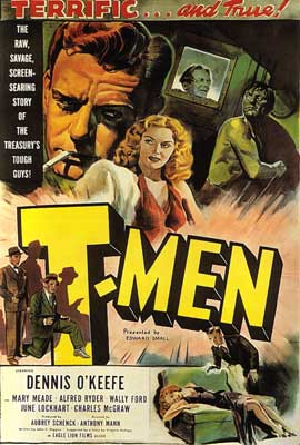 T-Men - 27 x 40 Movie Poster - Style A