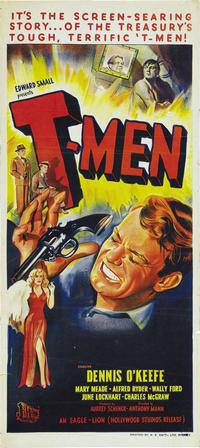 T-Men - 14 x 36 Movie Poster - Insert Style A