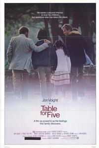 Table for Five - 11 x 17 Movie Poster - Style A