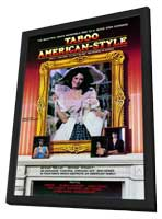 Taboo American-Style 3: Nina Becomes an Actress - 11 x 17 Movie Poster - Style A - in Deluxe Wood Frame