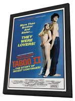 Taboo II - 11 x 17 Movie Poster - Style A - in Deluxe Wood Frame