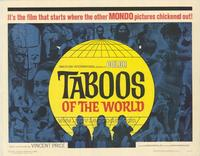 Taboos of the World - 11 x 14 Movie Poster - Style G