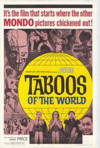 Taboos of the World - 27 x 40 Movie Poster - Style A