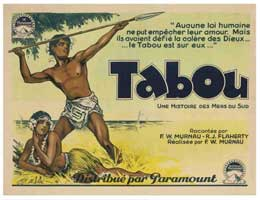 Tabu: A Story of the South Seas - 11 x 17 Movie Poster - French Style B
