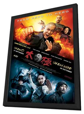Tai Chi Zero - 11 x 17 Movie Poster - Style C - in Deluxe Wood Frame
