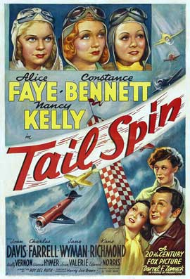 Tail Spin - 27 x 40 Movie Poster - Style B