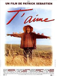 T'aime - 43 x 62 Movie Poster - French Style A