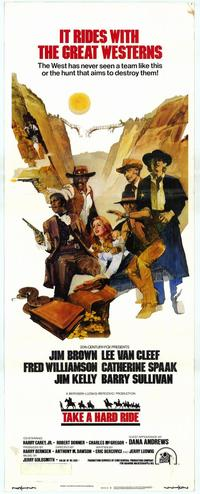 Take a Hard Ride - 14 x 36 Movie Poster - Insert Style A