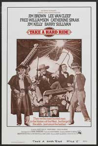 Take a Hard Ride - 27 x 40 Movie Poster - Style B