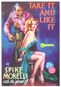 Take It and Like It - 11 x 17 Retro Book Cover Poster