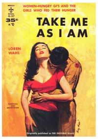 Take Me As I Am - 11 x 17 Retro Book Cover Poster