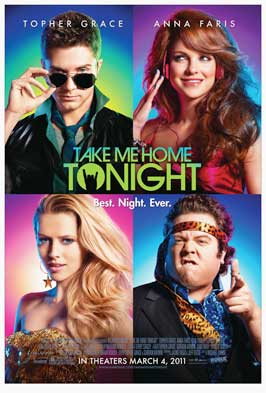 Take Me Home Tonight - 27 x 40 Movie Poster - Style A