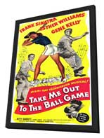 Take Me Out to the Ball Game - 11 x 17 Movie Poster - Style A - in Deluxe Wood Frame