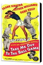 Take Me Out to the Ball Game - 11 x 17 Movie Poster - Style A - Museum Wrapped Canvas
