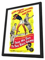 Take Me Out to the Ball Game - 27 x 40 Movie Poster - Style A - in Deluxe Wood Frame