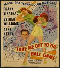 Take Me Out to the Ball Game - 27 x 40 Movie Poster - Style B