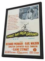 Take the High Ground - 11 x 17 Movie Poster - Style A - in Deluxe Wood Frame