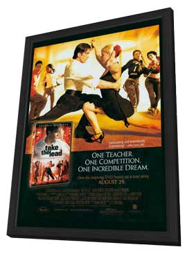 Take the Lead - 11 x 17 Movie Poster - Style B - in Deluxe Wood Frame
